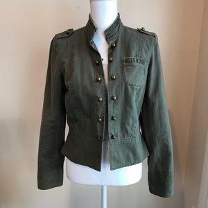 Apt.9 green military jacket medium